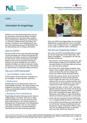 COPD - Angehörige