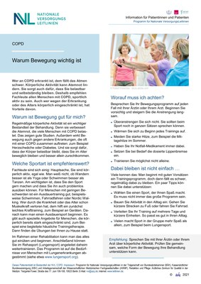 COPD - Bewegung