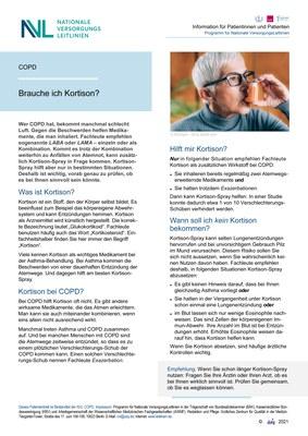 COPD - Kortison